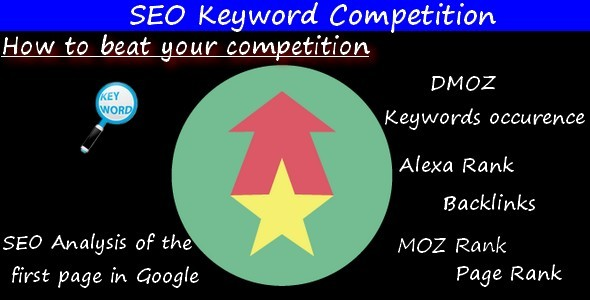 CodeCanyon SEO Keyword Competition 10724002