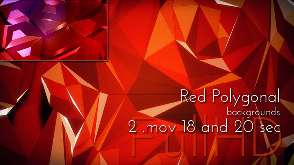 Red Motion Polygon