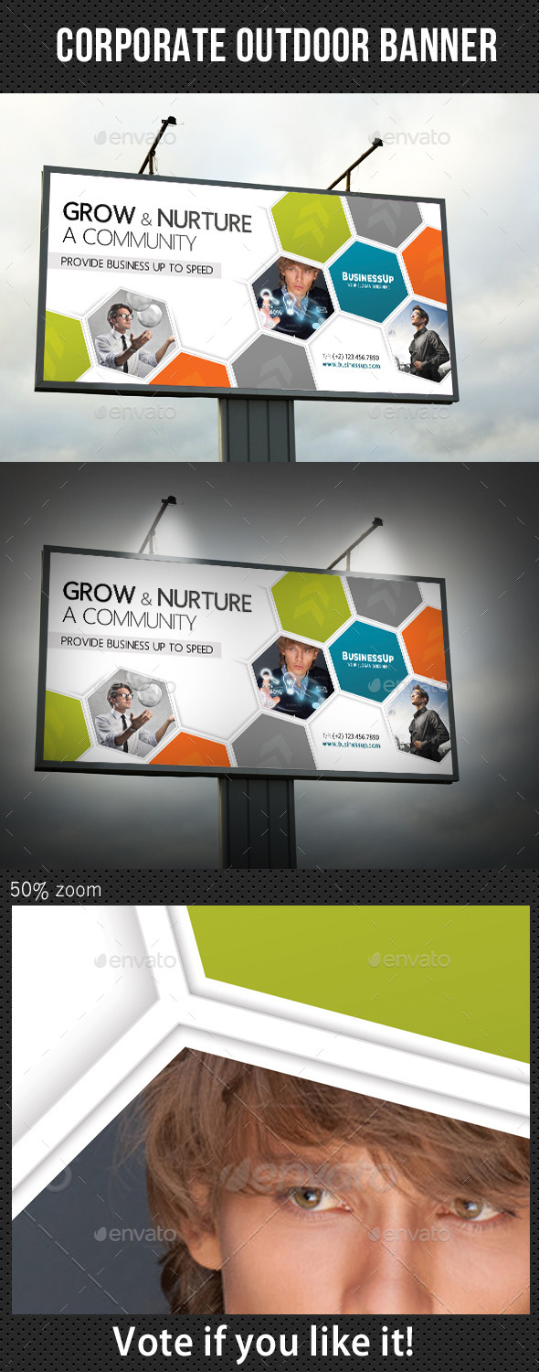GraphicRiver Corporate Outdoor Banner 33 10728531