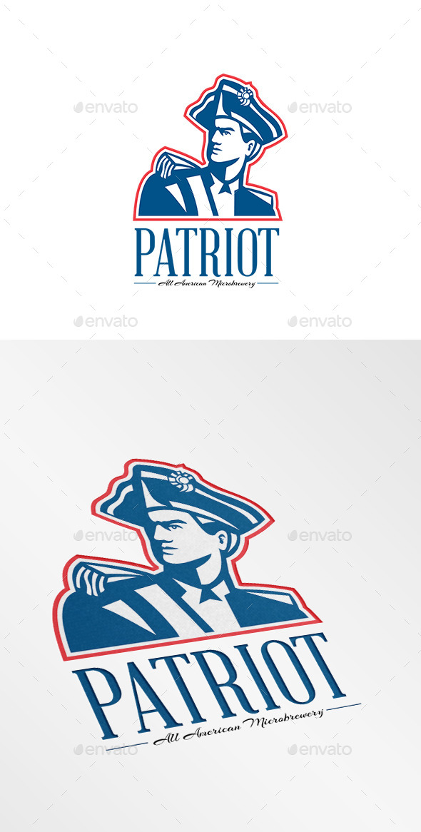 GraphicRiver Patriot All American MicroBrewery Logo 10728560