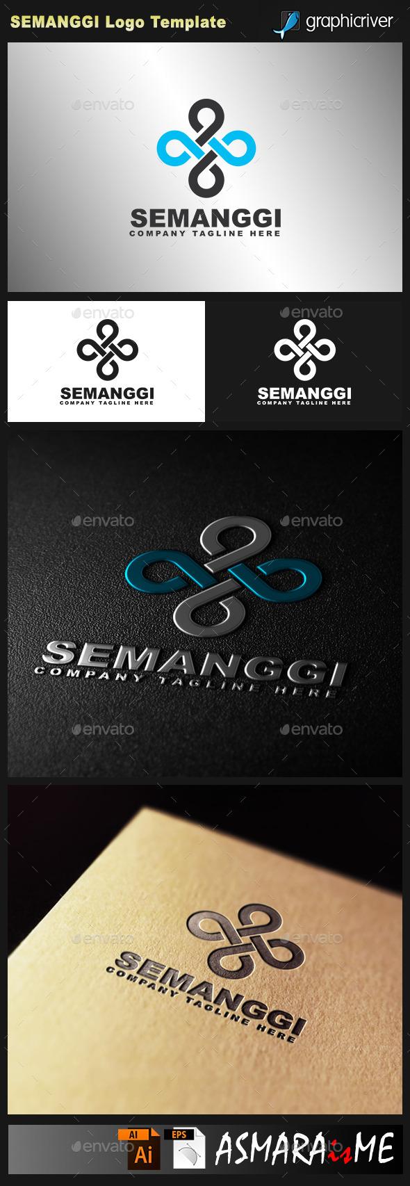 GraphicRiver Semanggi Infinity 69 Logo 10729936