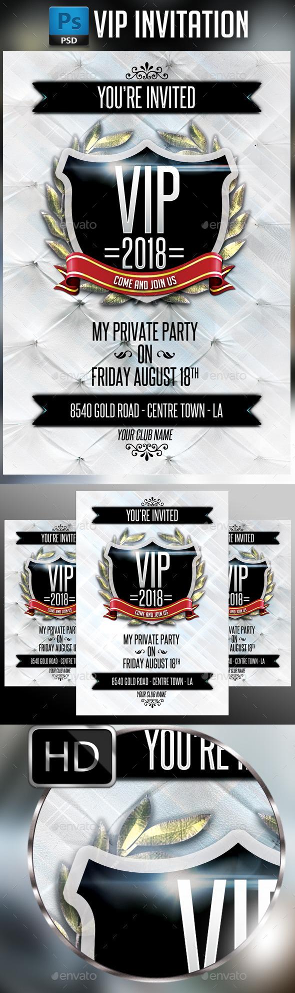 GraphicRiver VIP Invitation 10729943