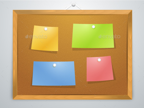 GraphicRiver Pinboard 10730019