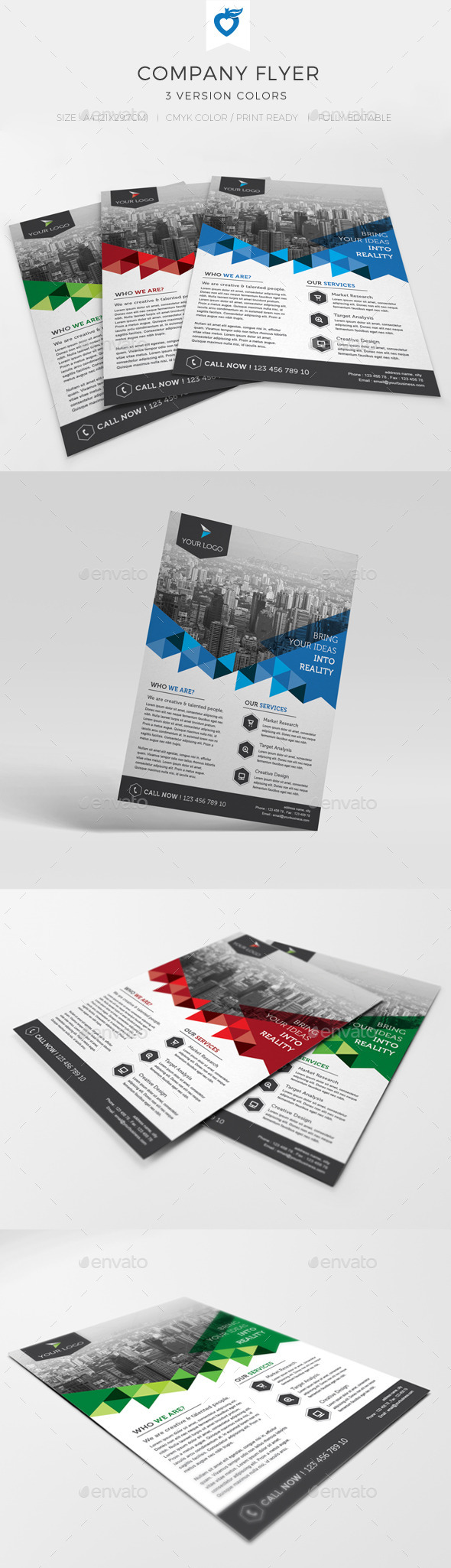 GraphicRiver Company Flyer 10730324