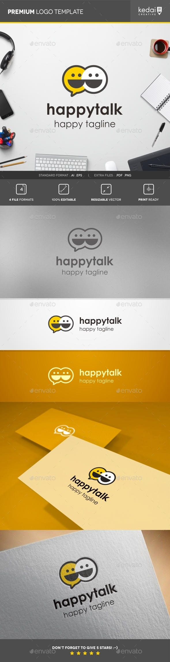 GraphicRiver Happy Talk 10730714