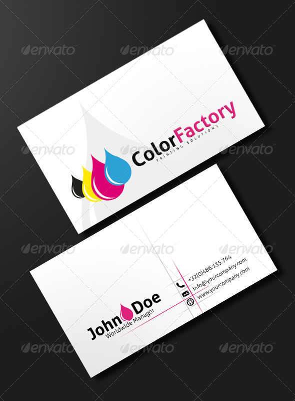 Ink Power Print Business Card