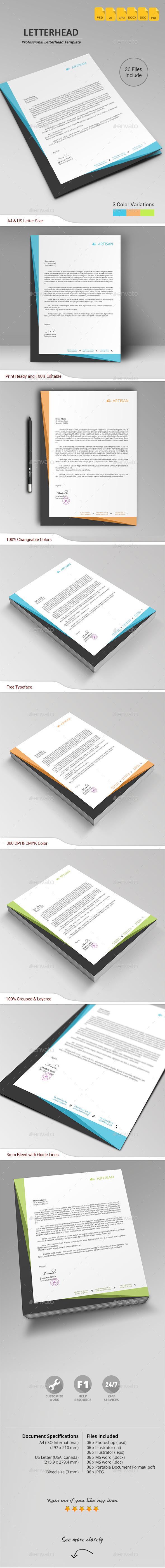 GraphicRiver Letterhead 10730872