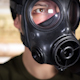 Person Wearing Gasmask 29 - VideoHive Item for Sale