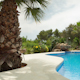 Luxury Private Paradise Pool Holidays Mediterranean 2 - VideoHive Item for Sale