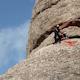 Rock Climbers Montserrat Mountain Range Spain 3 - VideoHive Item for Sale
