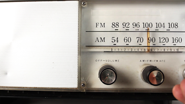 Vintage Radio Dial Frequency 1