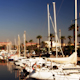 Barcelona Port Olympic Harbour Boats 2 - VideoHive Item for Sale