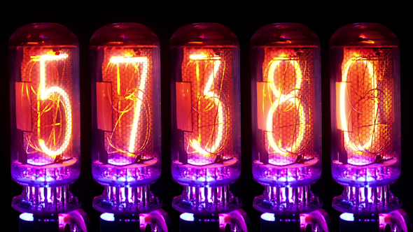 Nixie Clock Numerical Counter 27