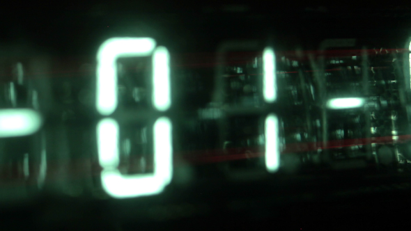 Led Clock Counter 12