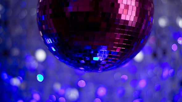 Pink Discoball 65