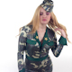 Female Army Costume Dancer 1 - VideoHive Item for Sale