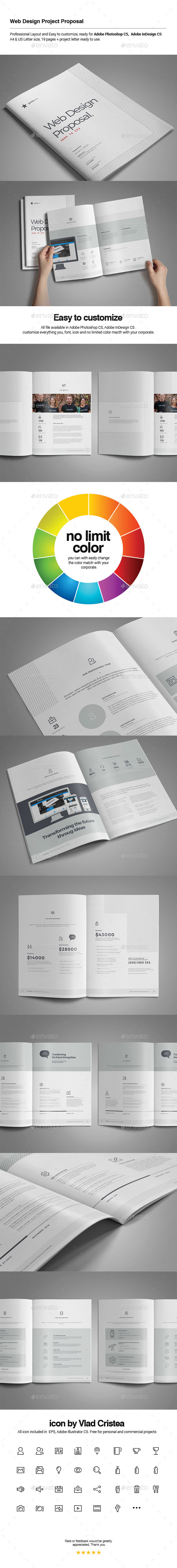 GraphicRiver Web Design Proposal 10733933