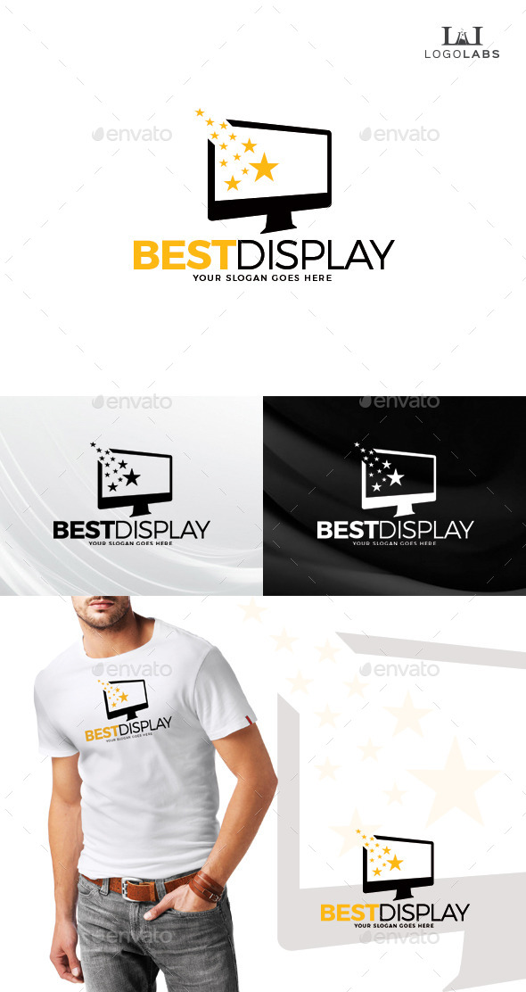 GraphicRiver Best Display Logo 10734155