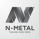 N Metal Logo - GraphicRiver Item for Sale