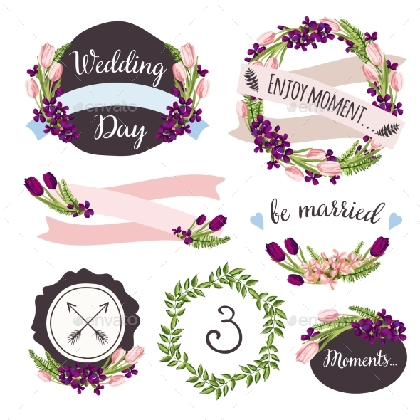 GraphicRiver Wedding Collection Elements 10734240