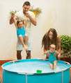 Children playing in pool - PhotoDune Item for Sale