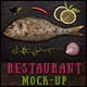 Restaurant / Fish Bar Identity Mock-up - GraphicRiver Item for Sale