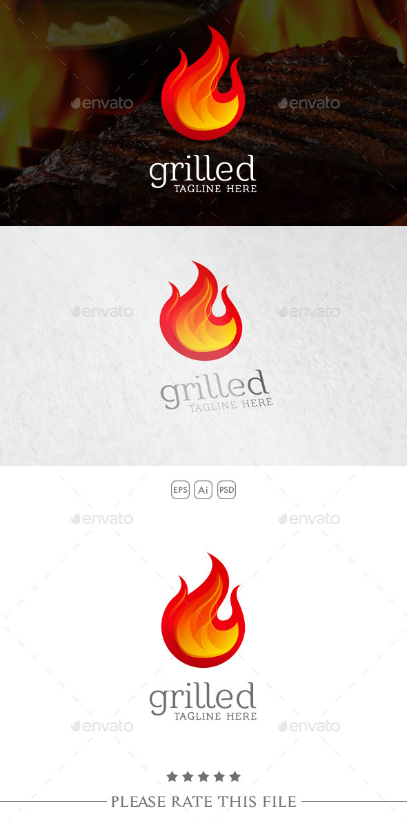 GraphicRiver Fire Logo 10734519