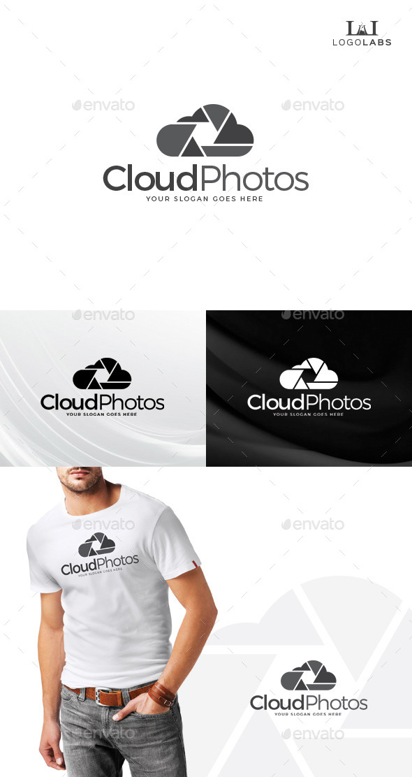 GraphicRiver Cloud Photos Logo 10734520