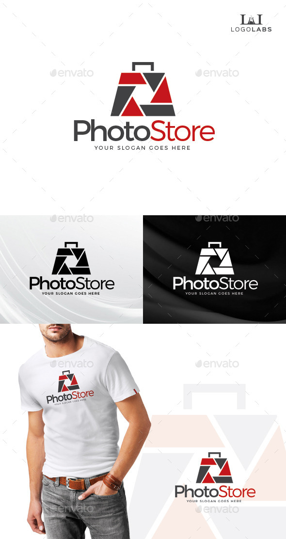 GraphicRiver Photo Store Logo 10734698