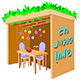 Sukkah for Sukkot with Table - GraphicRiver Item for Sale
