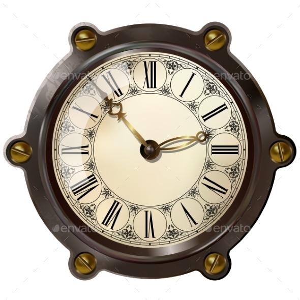 GraphicRiver Ancient Clock 10734769