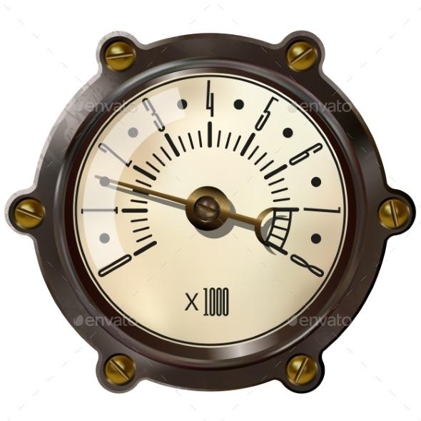 GraphicRiver Tachometer 10734799