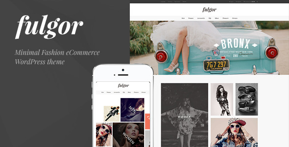 ThemeForest Fulgor Minimal Fashion eCommerce WordPress Theme 10734847