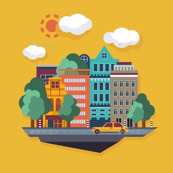 GraphicRiver Urban Landscape 10735017