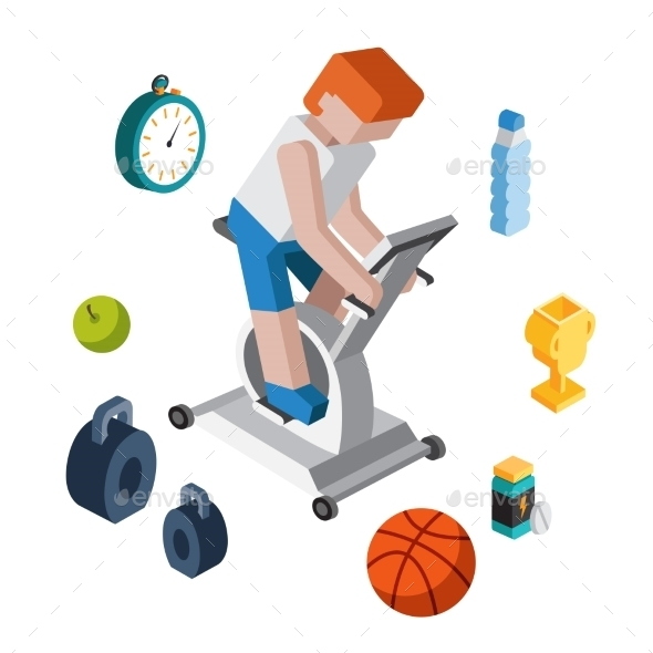 GraphicRiver Sport Exercise Workout 10735022