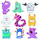 Halloween Monsters Pack 2 - GraphicRiver Item for Sale