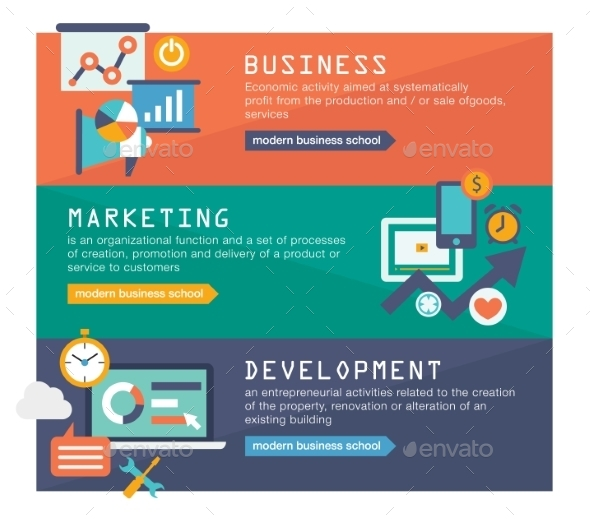 GraphicRiver Digital Marketing Startup Plan 10735072