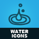 Hand Drawn Water Icons - GraphicRiver Item for Sale