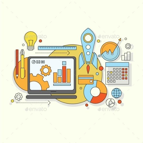 GraphicRiver Website Development 10735372