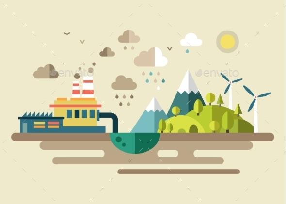 GraphicRiver Urban Ecology Environmental Protection 10735552