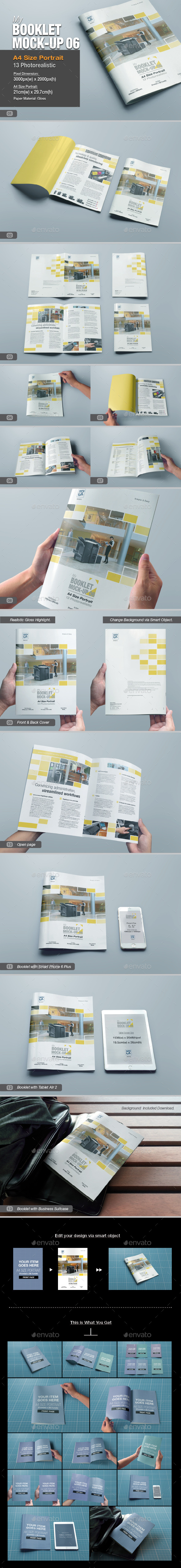 GraphicRiver myBooklet Mock-up 06 10735972