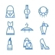 Icons Set Woman Accessories - GraphicRiver Item for Sale