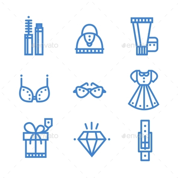GraphicRiver Science Icons Set 10736187