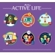 Active Life Collection of Vector Illustration - GraphicRiver Item for Sale