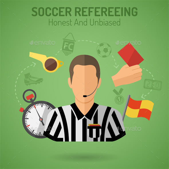 GraphicRiver Soccer Refereeing 10736294