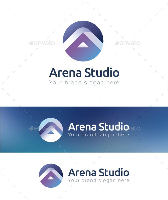 GraphicRiver Arena Studio Logo Template 10736362