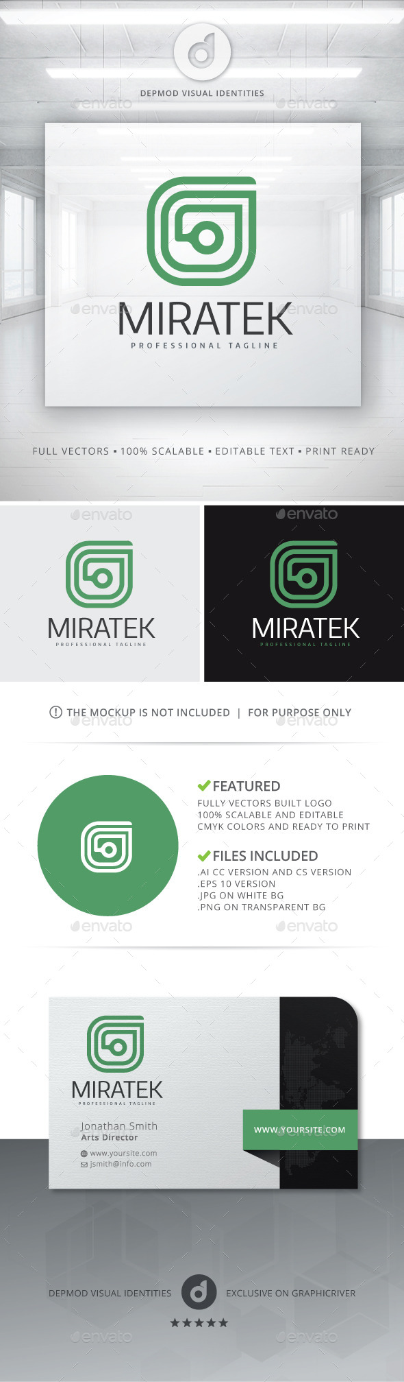 GraphicRiver Miratek Logo 10736452