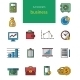 Vector Flat Web Icons on SEO, Business, Shopping - GraphicRiver Item for Sale