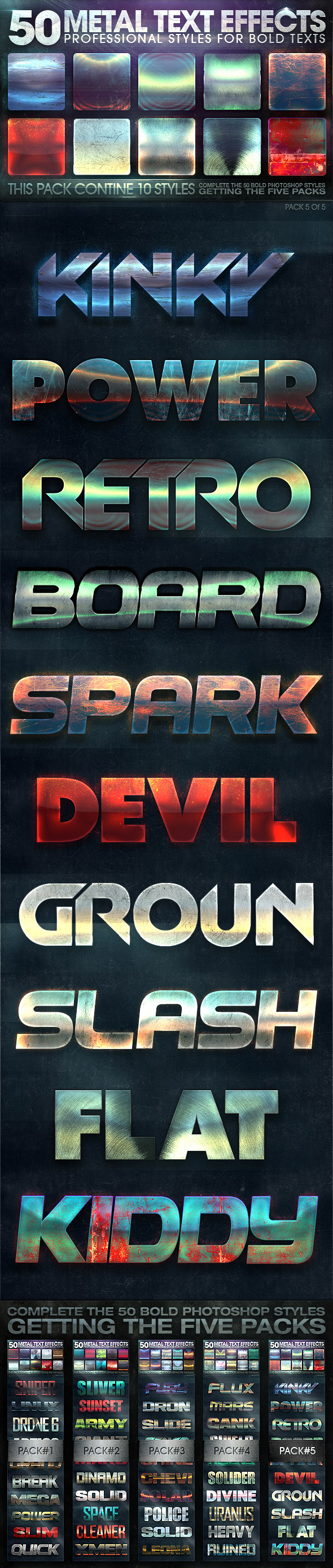 GraphicRiver 50 Metal Text Effects 5 of 5 10736602
