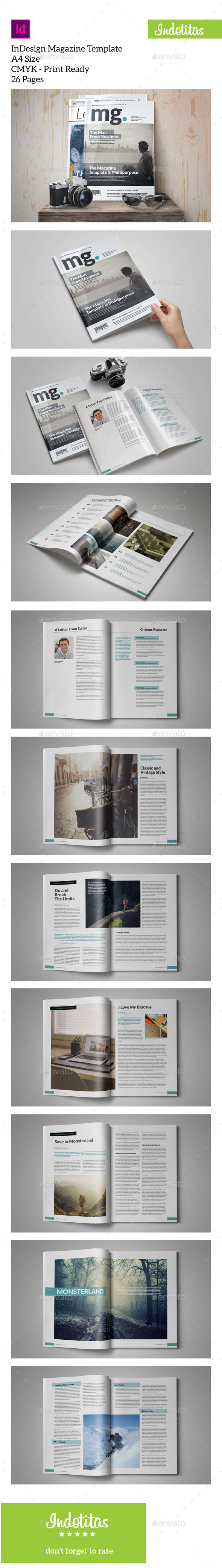 GraphicRiver MG InDesign Magazine Template 10736606